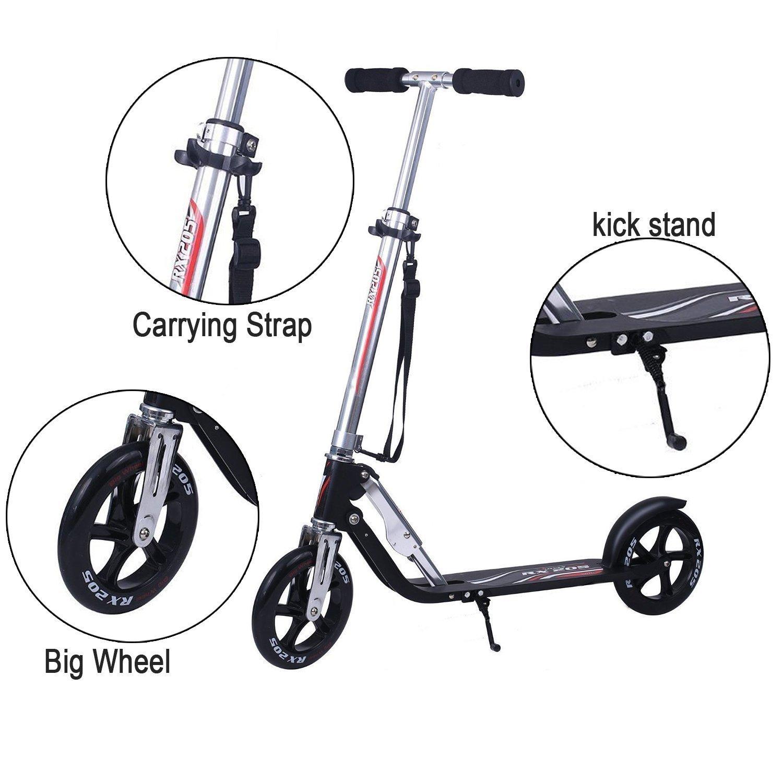 Vokul VK 205 Big Wheel Fold Kick Scooter - Scooter Reviews