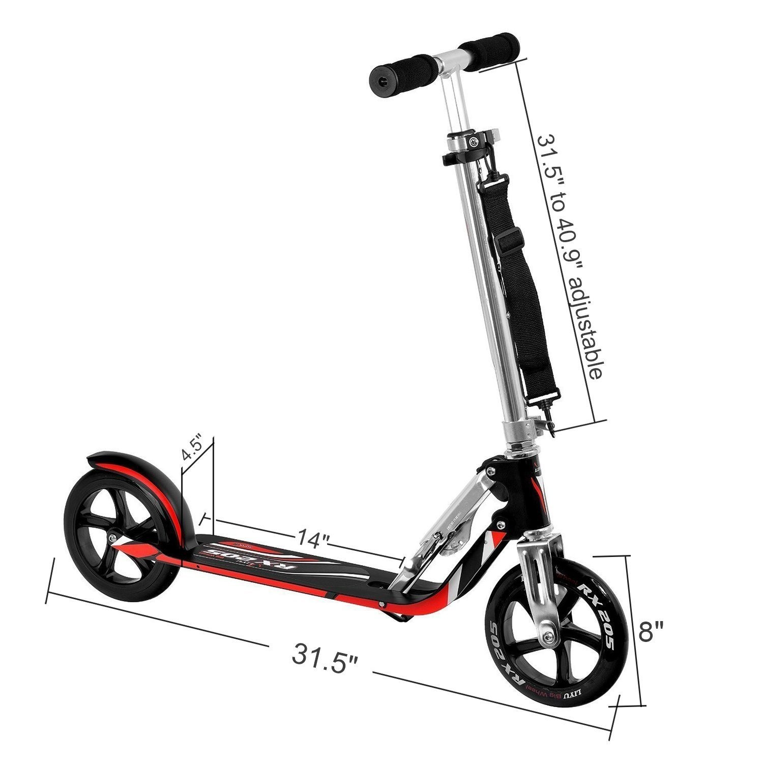 VOKUL VK205 Premium Adult Scooter Specifications
