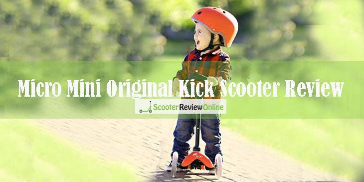 Micro Mini Original Kick Scooter Review