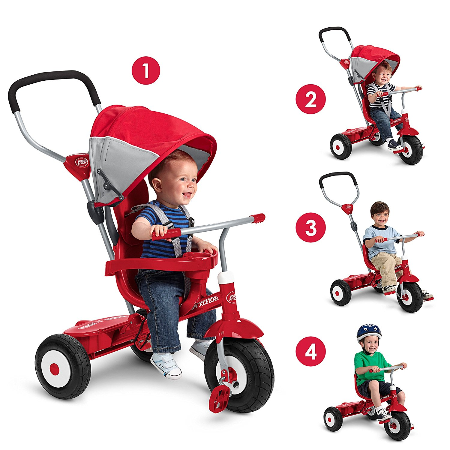 The Radio Flyer baby Scooter