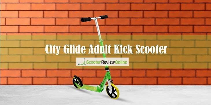 City Glide Adult Kick Scooter