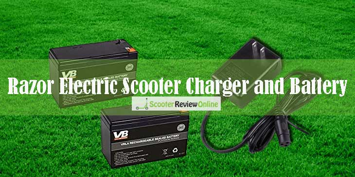 Razor Electric Scooter Charger and Battery