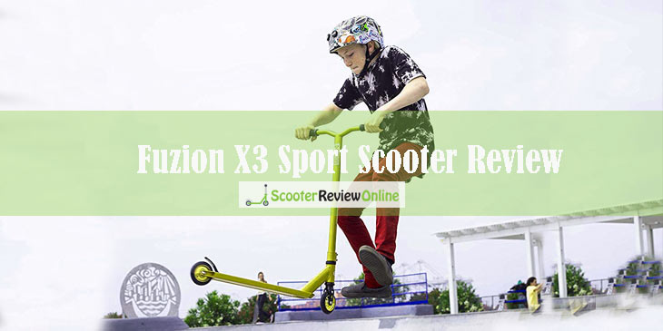 Fuzion X3 Sport Scooter Review