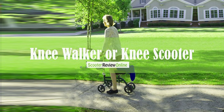 Knee Walker or Knee Scooter