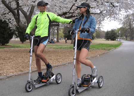 Scooters Handle Speed Better