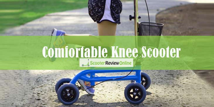 Comfortable Knee Scooter