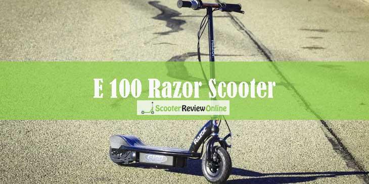 e100 Razor Scooter Infographics