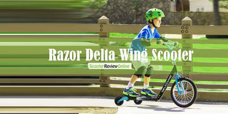 Razor Delta Wing scooter
