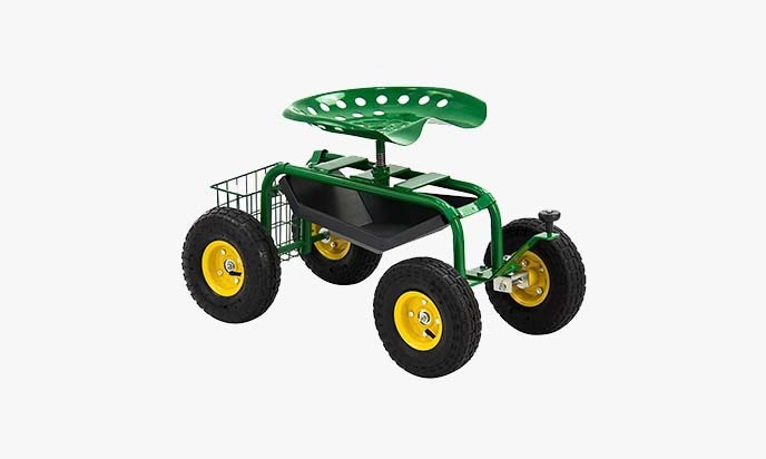 Garden Scooter – Cart Rolling Work Seat